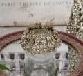 ジュエルフラワーカップ 8566 クリスマス 飾り 置物 オブジェ ティーキャンドルホルダー ヨーロピアン アンティーク風 アンティ