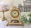 テーラークロック オベリスク 8763 置時計 テーブルクロック アンティーク風 シャビーシック フレンチシャビー 姫系 テーブルク