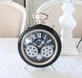 アンティークな歯車クロック 置時計 ブラック(8431)テーブルクロック アンティーク風 アンティーク 雑貨 姫系 輸入雑貨 シャビ
