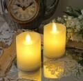 LED キャンドルライト スモール ホワイト 8461 LED蝋燭 ロウソク型ライト アンティーク風 アンティーク 雑貨 姫系 輸入雑
