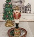 くるみ割り人形 ソルジャーオブジェ 8539 クリスマス 飾り 置物 オブジェ ヨーロピアン アンティーク風 アンティーク 雑貨 姫系