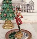 くるみ割り ソルジャーオブジェ 8544 クリスマス 飾り 置物 オブジェ ヨーロピアン アンティーク風 アンティーク 雑貨 姫系 輸入