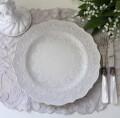 アンティーク 食器 La Ceramica V.B.C ラ・セラミカ イタリア ディナー皿(クリーム 022) ディナープレート イタリア製 輸入食