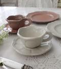 【La Ceramica V.B.C ラ・セラミカ イタリア】 デミタスカップ&ソーサー(025・026) ティーカップ&ソーサー C&S イ