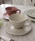 【La Ceramica V.B.C ラ・セラミカ イタリア】 カップ&ソーサー(044・045) ティーカップ&ソーサー C&S カフェオレ