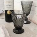 ガラスコップ (リヨネ グレー200cc) 【La Rochere】 フランス製 ラロシェール ウォーターグラス タンブラー ガラス食器