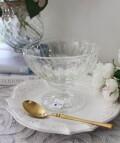 デザートカップ・クープ ガラス製(エリーゼ400cc) 【La Rochere】 フランス ラロシェール アイスカップ デザート皿 デ