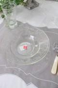 パスタプレート(ヴェルサイユ・ガラス) フランス製 【La Rochere】 ラ・ロシェール パスタ皿 ヴェルサイユ ガラス食器 お