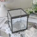 マチルドエム フランス ガラスケース キューブ (162) ガラス 小物入れ 蓋付 可愛い マチルドM Mathilde M. シャビーシック アン