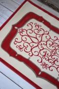 フランス ラグマット SERGE LESAGE (セルジュ ルサージュ)社  ALICANTE (ROUGE)140×200 フランス製 カーペット 絨毯