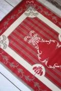 フランス ラグマット SERGE LESAGE (セルジュ ルサージュ)社 SOLENE(ROUGE)140×200 フランス製 カーペット 絨毯 スタ