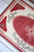 フランス ラグマット SERGE LESAGE (セルジュ ルサージュ)社 ALIXE(ROUGE) 140×200 フランス製 カーペット 絨毯