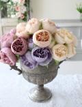 ロマンティックピオニー(3本1束タイプ)芍薬 造花 シルクフラワー アーティフィシャルフラワー インテリアフラワー
