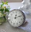 ブロカント PARISクロック 置時計 掛け時計 クオーツ時計 テーブルクロック 輸入雑貨 アンティーク調 アンティーク 雑貨 antiq