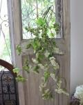 ナチュラル ベリースプレー 枝 造花 可愛い グリーン シルクフラワー アーティフィシャルフラワー インテリアフラワー フェイク