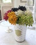 ラウンドベリー  造花 ナチュラル 実 ベリー 可愛い 花 グリーン シルクフラワー アーティフィシャルフラワー インテリアフラワ