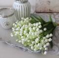 スズラン 造花 バンドル ピック ミュゲ ナチュラル 造花 シルクフラワー アーティフィシャルフラワー インテリアフラワー かわい