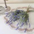 ラベンダー バンチ(1束7本セット)パープル 紫 造花 シルクフラワー アーティフィシャルフラワー インテリアフラワー ブーケ 花