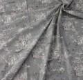 トワルドジュイ・田園(グレー グリス) トワル・ド・ジュイ フランス製 輸入生地 カーテン生地 ファブリック カルトナージュ