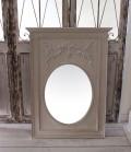 アンティーク風・壁掛けミラー (グスタヴィアン 167)四角 長方形 壁掛けミラー  シャビーシック  フレンチカントリー アンティ