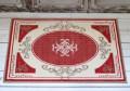 フランス ラグマット SERGE LESAGE (セルジュ ルサージュ)社 ALIXE (ROUGE) 50×70 フランス製 玄関マット スタイルフ