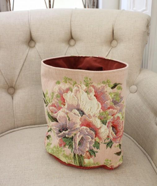 フランス製のゴブラン織り ( バッグ型小物入れS)収納 小物入れ  シャビーシック アンティーク風 フレンチカントリー フランス