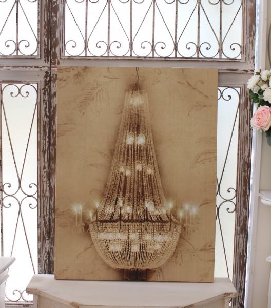 アンティークなウォールパネル(シャンデリアB)壁飾り パネル  おしゃれ アンティーク 雑貨 アンティーク風 輸入雑貨 antique