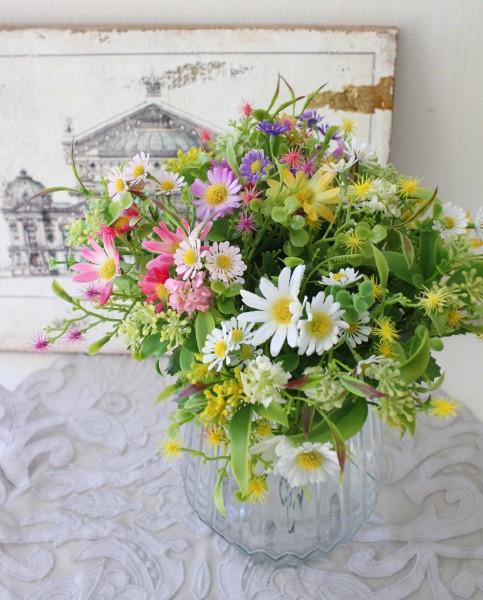 デージミックス 2本セット 小花 バンドル ピック ナチュラル 造花 シルクフラワー アーティフィシャルフラワー インテリアフラワ