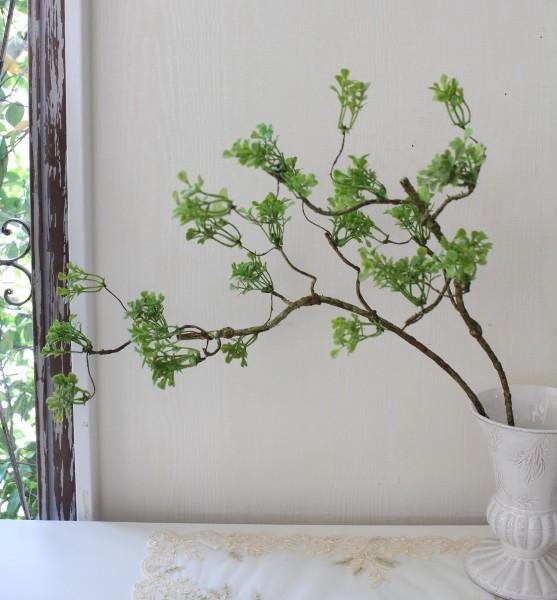 ボックスウッドスプレー 2本セット 枝 造花 可愛い グリーン シルクフラワー アーティフィシャルフラワー インテリアフラワー フ