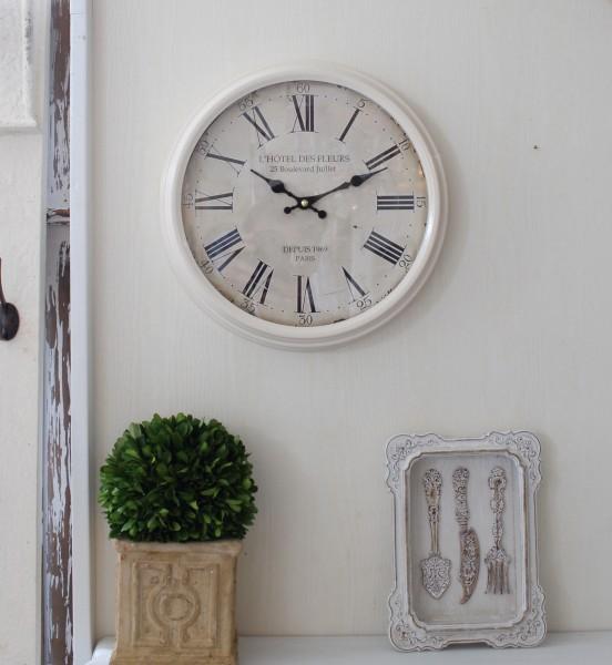 アンティーク風 掛け時計(PARIS1969・023WC)アンティーク 雑貨 掛け時計 ウォールクロック アンティーク風 シャビーシック ant