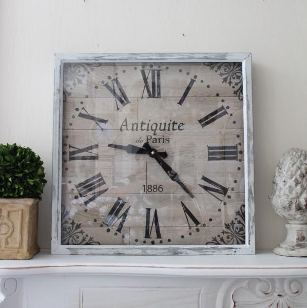アンティーク風 掛け時計(Antiquite Paris・025WC)アンティーク 雑貨 掛け時計 ウォールクロック アンティーク風 シャビーシッ