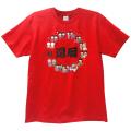 【巣鴨道楽】還暦の人の輪Tシャツ(M/L/LL)