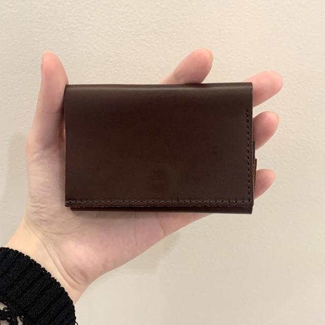 M+ straccio 三つ折り財布