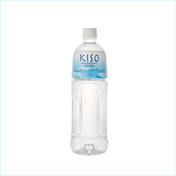 木曽の天然湧水 KISO ペットボトル 1L (12本セット)