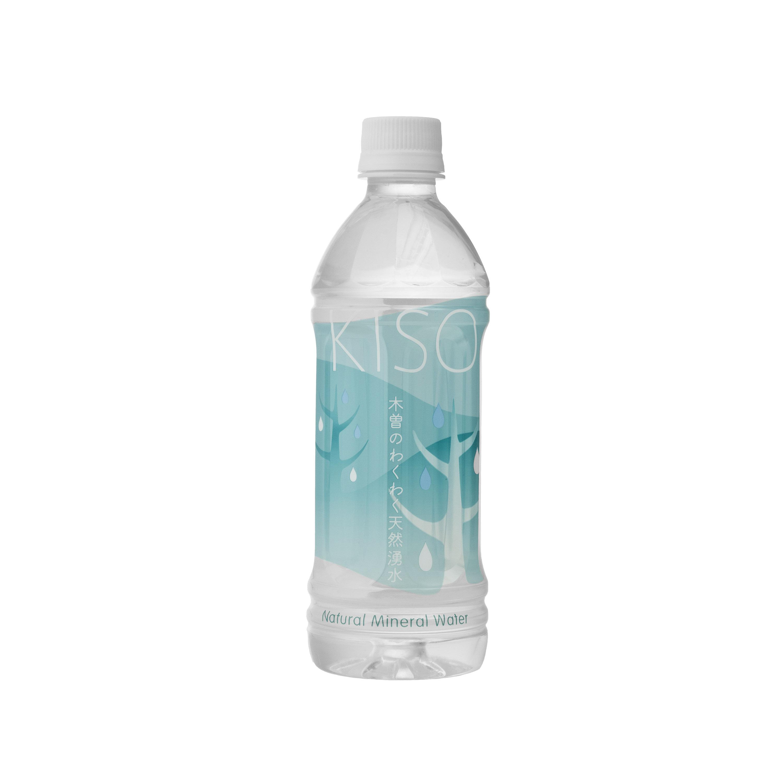 木曽の天然湧水 KISOペットボトル ウォーターツリーラベル 500ml (20本セット)