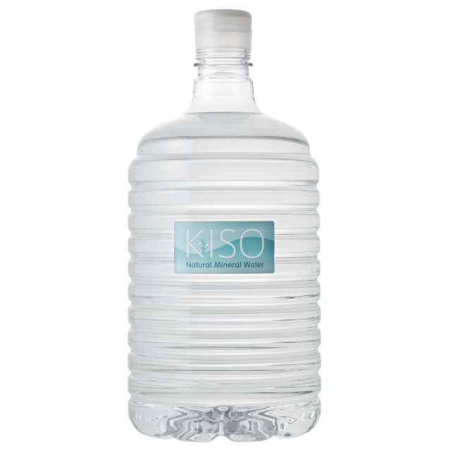 木曽の天然湧水 KISOサーバー用ボトル8L (2本セット)