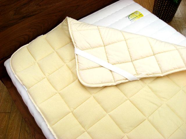 西川リビング 西川牧場 羊毛ベッドパッド