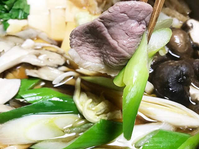 鴨鍋の写真
