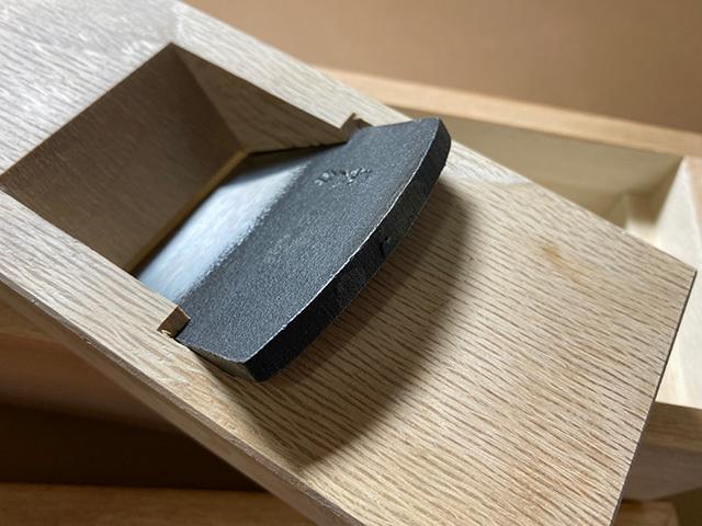 削り器の刃
