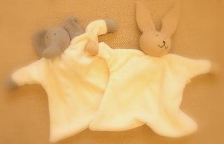 ほおずり人形 〜タオル地の感触がきもちいいよ。赤ちゃんも大好き〜