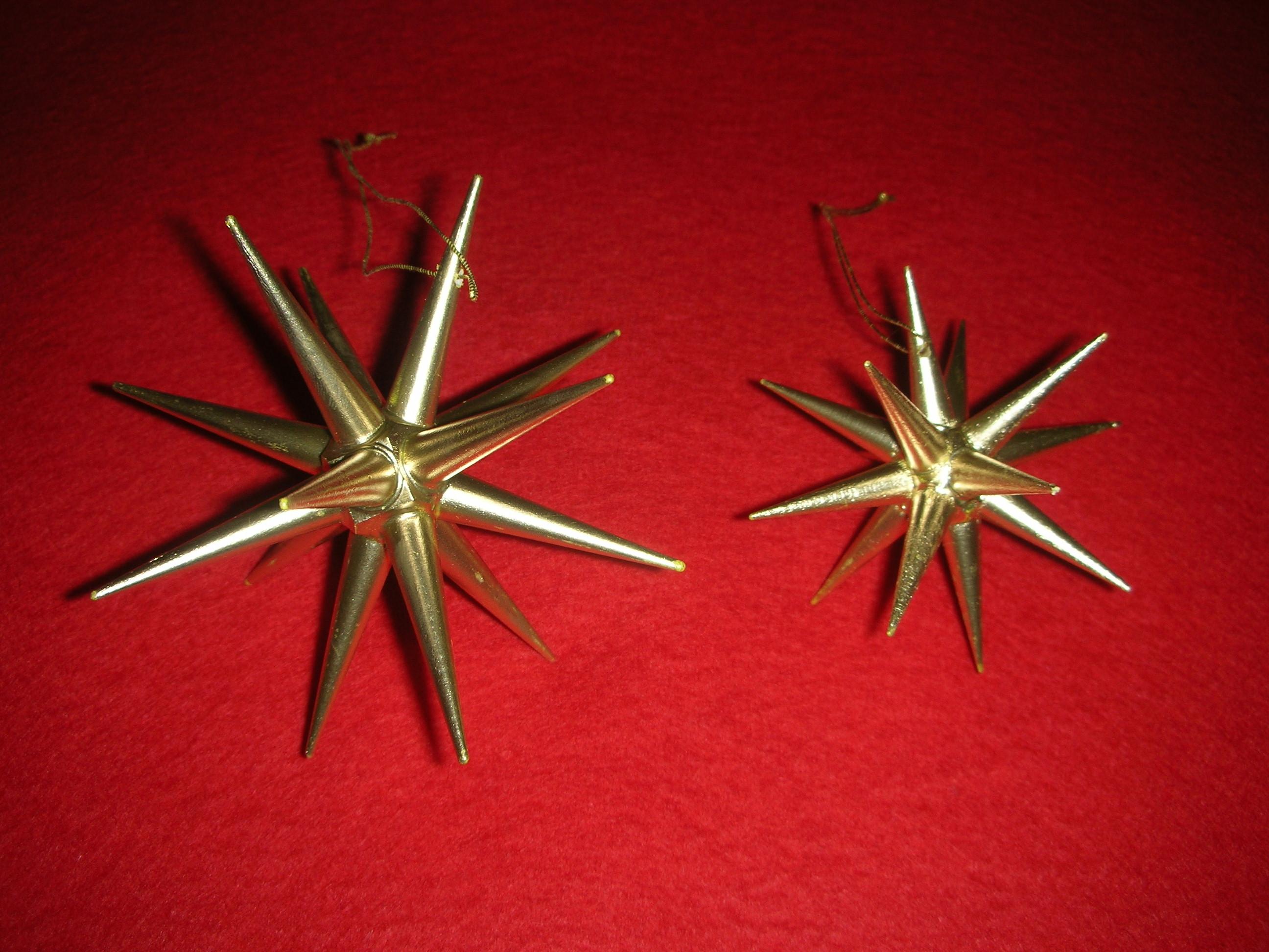 金の星立体,オーナメント,クリスマス,アルビンプライスラー,寿月すみたや
