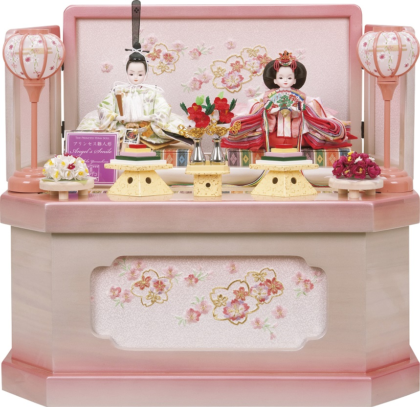 プリンセス雛人形,収納飾り,若草物語雛