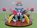 楕円鯉武者,組み木の五月人形,小黒三郎,遊プラン