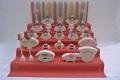 園びな五段飾り小,KH221,小黒三郎,組み木の雛人形,遊プラン