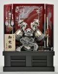 五月人形,兜,銀巻龍,貫前鍬形