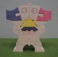 鯉持ち兜童子,小黒三郎,組み木の五月人形,遊プラン