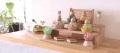 プーカのひな人形,HINANINGYO,ブナ,積み木のおひなさま