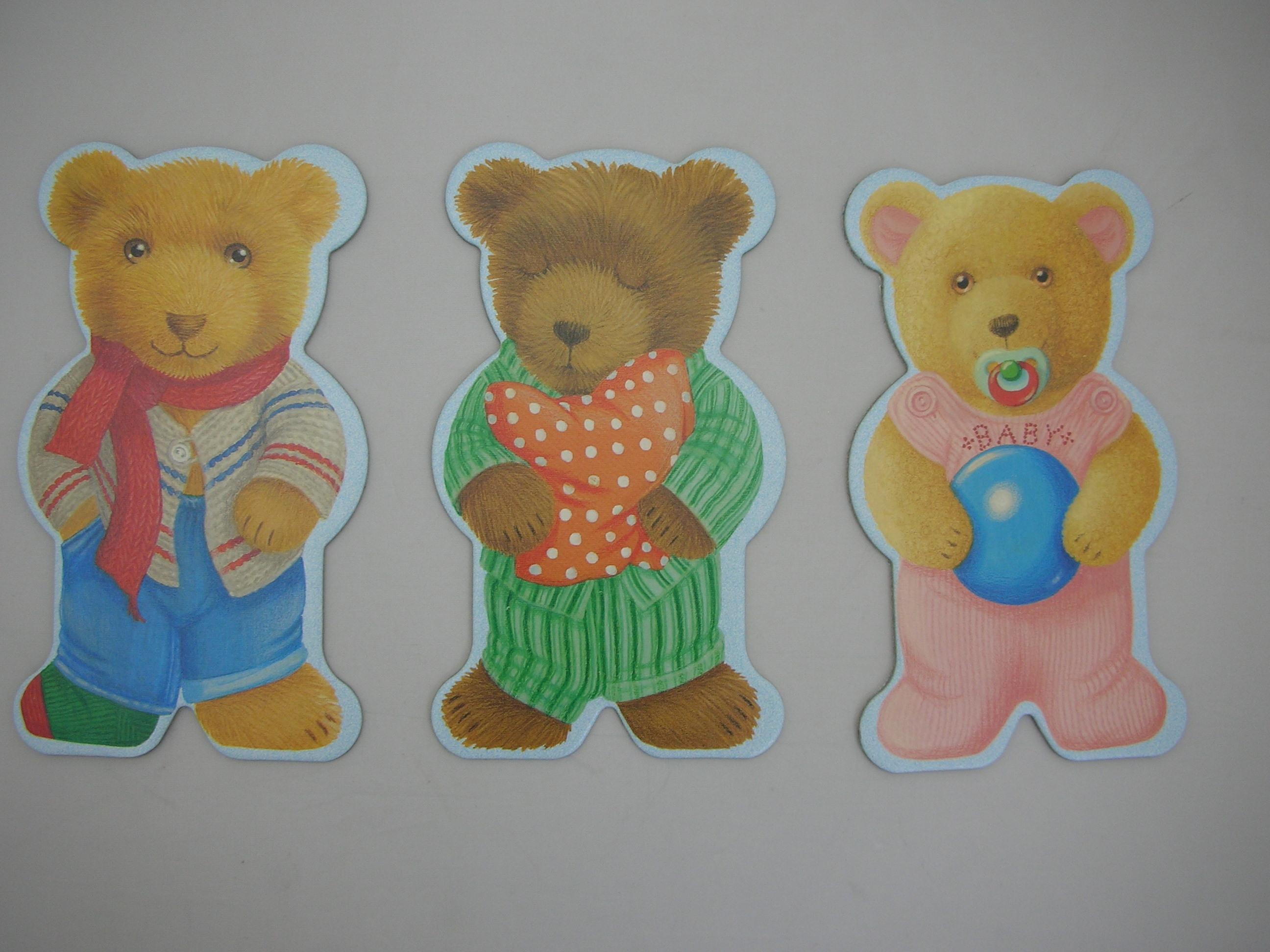 テディメモリー ~可愛いクマのメモリーゲーム。大きくてごっこ遊びもできちゃいそう。~