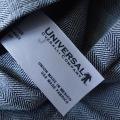 UNIVERSAL OVERALL COMPANY 【ユニバーサルオーバーオールカンーパニー】 フィシャーヘリンボーンエプロン