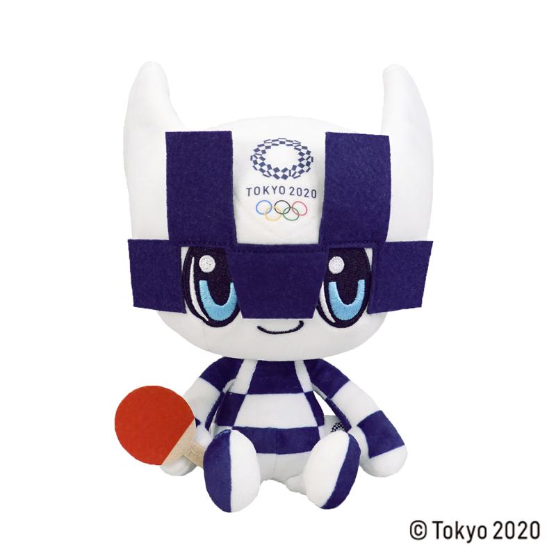 東京2020 オリンピックマスコット  ぬいぐるみ  M / 卓球